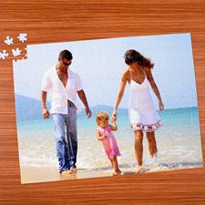 45.72 cm x 60.69 cm Rompecabezas personalizado con foto y de 70 o 252 o 500 piezas