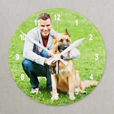 Reloj personalizado con impresión de galería de fotografías