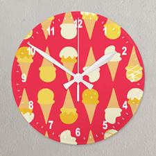 Reloj de acrílico personalizado con estampado completo impreso