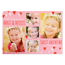 Sweet Valentine Personalized Photo Card