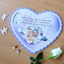 My Girl Personalizado Heart Shape Puzzle
