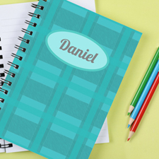 Checker Personalized Notebook