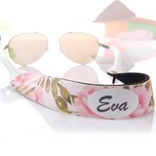 Correa para gafas de sol de acuarela y florales personalizado