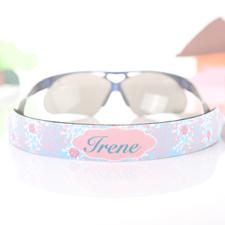 Correa para gafas de sol Aqua Floral personalizados