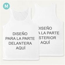 Impresión completo en una camiseta tipo tan top unisex  (Medium)