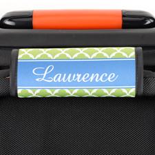 Envoltura de asas de equipaje personalizada con vieira de lima