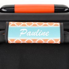 Orange Clover Personalized Luggage Handle Wrap