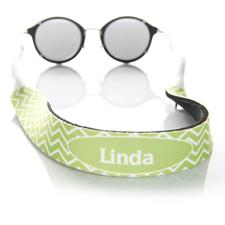 Símbolos de cal correa de gafas de sol monogramada