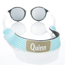 Correa de gafas de sol monograma de Aqua Rayas
