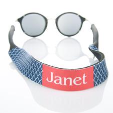Correa para gafas de sol monograma de la Marina Quatrefoil