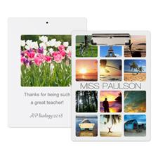Portapapeles personalizado con fotografía diseño