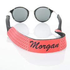 Correa para gafas de sol rojo Circle Monogrammed