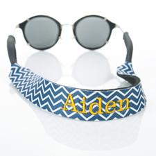 Símbolos de la Armada Bordado Monograma correa de gafas de Sol Croakies