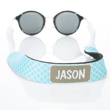 Correa de gafas de sol monograma de círculo entrelazado de agua