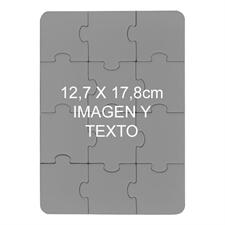 12.70 cm x 17.78 Rompecabezas con foto tipo retrato de 12 piezas