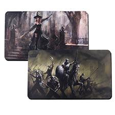 Impresión personalizada  35.56 cm X 60.96 cm Tapete de juego de gaucho, 2-lado(s)