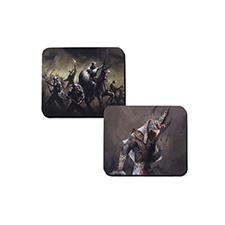Impresión personalizada 28.96 cm X23.88 cm Tapete de juego de goma, 2-lado(s)