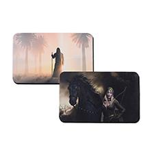 Impresión personalizada 40.64 cm X 25.40 cmTapete de juego de gaucho, 2-lado(s)