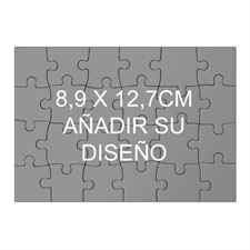 3.5 x 5  Mini Wooden Jigsaw rompecabezas (Landscape, 24 pieces)
