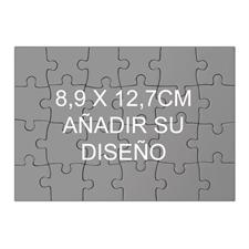 8.89 cm x 12.70 cm    rompecabezas mini de madera  (paisaje, 24 piezass)