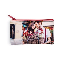 Bolsa cosmética con fotografía personalizada misma fotografía por cada lado 10.1x17.7