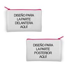 Bolsa cosmética de neopreno con impresión a todo color (diferentes imágenes) (12.7x20.3)