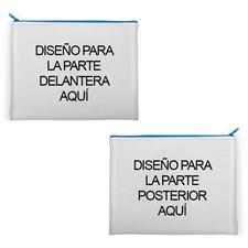 Bolsa cosmética personalizada de neopreno (Imágenes diferentes) 27.9x35.5