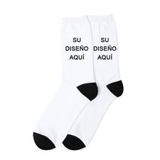 Diseña tus propios calcetines fotográficos unisex, medianos
