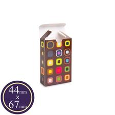 Caja de plegado personalizada para cartas de tamaño europeo mini