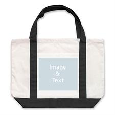 Bolsa grnade personalizada con fotografías de paisajes