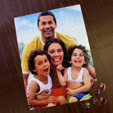 Personalizado 285 Or 54 Piece Portrait 30.48 cm x 41.91 cm Photo Puzzle