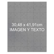 Personalizado Magnetic 30.48 cm x 41.91 cm Portrait,285 Or 54 Piece Photo Puzzle