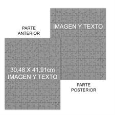 Personalizado Custom Front And Back Portrait 30.48 cm x 41.91 cm, 285 Or 54 Piece rompecabezas Photo Puzzle