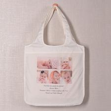 Personalizado 5 colage doblada bolsa de compras , Contemporáneo