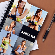 Create Your Own Black Five Collage Notebook