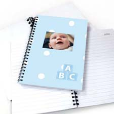 Create Your Own Happy Baby Boy Notebook
