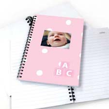 Create Your Own Happy Baby Girl Notebook