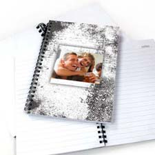 Create Your Own Modern White Texture Notebook