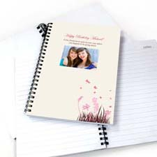 Create Your Own Spring In Pink Photo Notebook