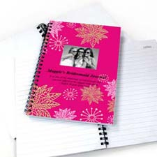 Create Your Own Floral Corner Star Photo Notebook