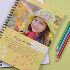 Create Your Own Summer Floral Photo Notebook