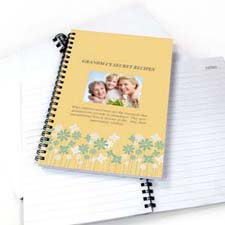 Create Your Own Floral Design Photo Notebook