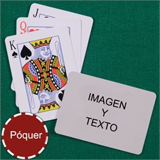 Naipes naipes personalizados   de tamaño póker con índice estandar y paisaje imagenes