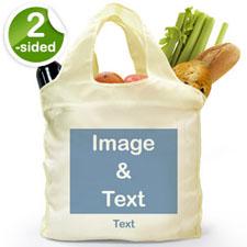 Bolsa de compras doblada por 2 lados, imagen n de Paisaje