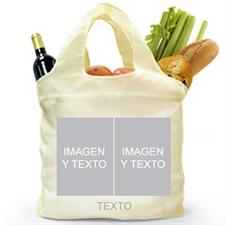 Personalizado de los dos lados 2 colage bolsa de compras , clásico