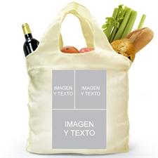 Personalizar 2 lados 3 bolsa de compras de colage , clásico