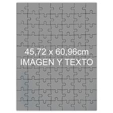 Rompecabezas con retrato tamaño jumbo de 45.72 cm x 60.96 cm Rompecabezas con foto de 70 o 252 o 500 piezas, Caja personalizada