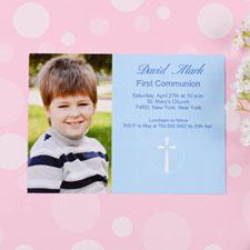 Tarjeta personalizada de Primera Comunión diseño