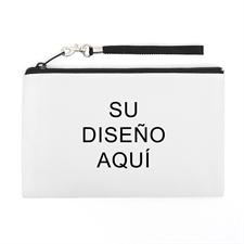 Bolsa de mano personalizada con  color completo (imagen distinta de cada lado), 12.7x20.3 cm
