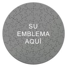 Custom Printed Round rompecabezas 7 1/4